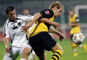 Legia zagra z Borussią Dortmund