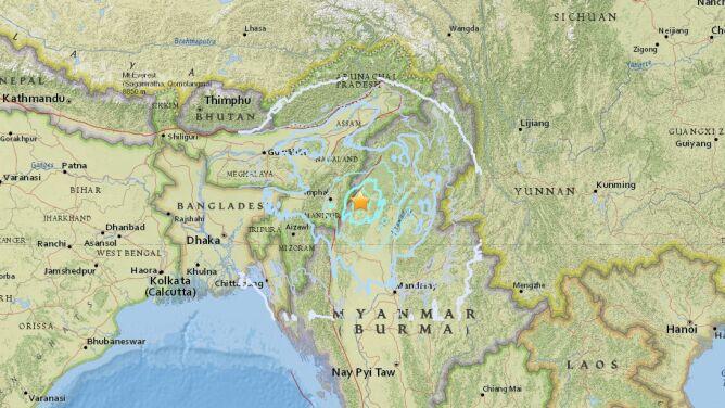 W Indiach zatrzęsła się ziemia