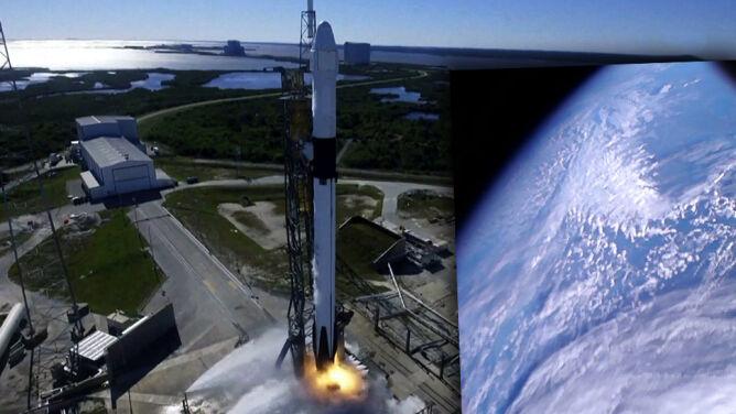 Historyczny moment. Pierwsze polskie zdjęcie Ziemi z kosmosu wykonane przez sztucznego satelitę