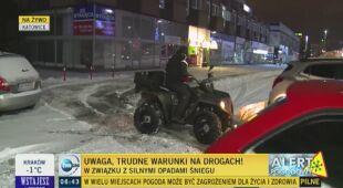 Śnieg w Katowicach, Międzyzdrojach i w Warszawie