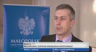 Kierownik małopolskiego WCZK o sytuacji w Krakowie (31.01)