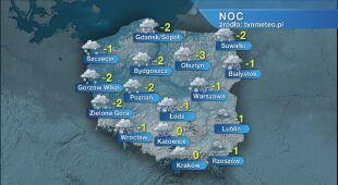 Prognoza pogody na noc 02/03.01