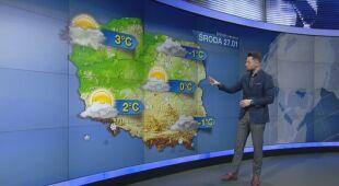 Maciej Dolega o prognozie pogody na środę