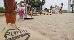 Warszawski Wilanów ma własną plażę